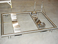Custom Stainless Steel Frames