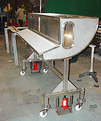 Custom Stainless Steel Work Stations